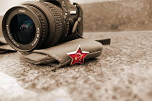 Картинки День Победы Крупным планом Объектив Фотокамера
