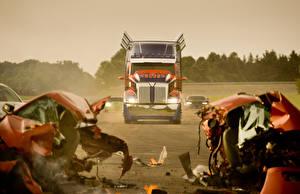 Фотографии Грузовики Трансформеры Трансформеры: Эпоха истребления Роботы кино Автомобили