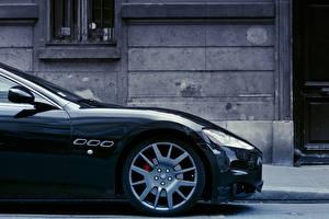 Картинка Maserati Сбоку Колесо GranTurismo Авто