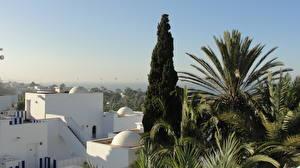 Картинка Здания Небо Марокко Agadir город