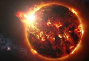 Обои Солнце Природа