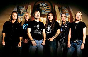 Фотографии Iron Maiden Мужчины heavy metal