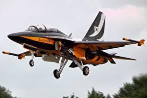 Обои Самолеты Взлет T-50 Golden Eagle