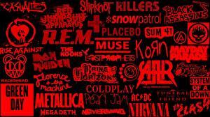 Фотография Логотип эмблема rock music