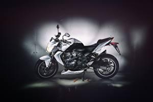Обои Kawasaki Z750 Exposure Flash Garage Motocycle Side Мотоциклы фото
