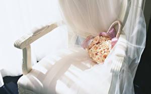 Картинки Вблизи Букеты Стулья Свадьба