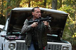 Картинка Arnold Schwarzenegger Мужчина Sabotage John «Breacher» Wharton кино Знаменитости