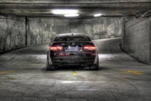 Фотография BMW Сзади HDRI Парковка M3 e92 машина