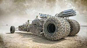 Фотография Безумный Макс: Дорога ярости Пустыни Колесо Фильмы Автомобили