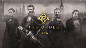 Фото Мужчины Лондон Биг-Бен The Order: 1886 Ready at Dawn Sony Computer Entertainment компьютерная игра