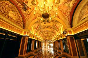Фото США Интерьер Лас-Вегас Казино