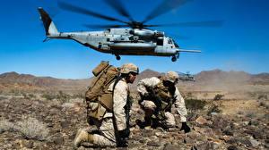 Картинки Солдат Вертолеты Десант
