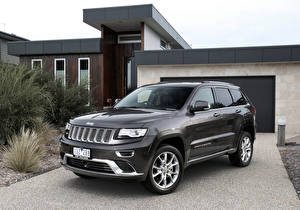 Фото Jeep Черная 2015 Grand Cherokee Summit Platinum AU-spec WK2 Авто