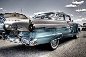 Фото Форд Ретро Сзади HDRI Fairlane машины