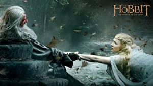Фотографии Хоббит Хоббит: Битва пяти воинств Cate Blanchett Gandalf, Galadriel Фильмы Знаменитости Девушки
