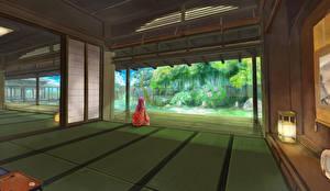 Картинка Комната Кимоно sarari zoom Девушки