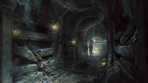 Обои Wolfenstein Воители Скелет The Old Blood Игры фото