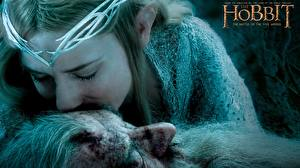 Обои Cate Blanchett Хоббит Хоббит: Битва пяти воинств Gandalf, Galadriel Фильмы Девушки