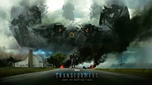 Обои Трансформеры Трансформеры: Эпоха истребления Дороги Робот Фэнтези