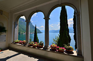 Фотографии Италия Озеро Вилла Varenna Villa Monastero
