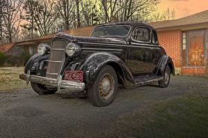 Обои Dodge Винтаж Черный 1935 Coupe автомобиль