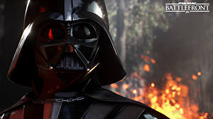 Картинки Star Wars Star Wars Battlefront 2015 Дарт Вейдер Шлем