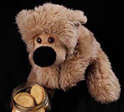 Фотография Игрушки Медведи Печенье