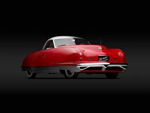 Фотография Chrysler Винтаж Красный 1940 Thunderbolt Concept Car
