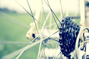 Обои Крупным планом Велосипеде Цепь markus spiske