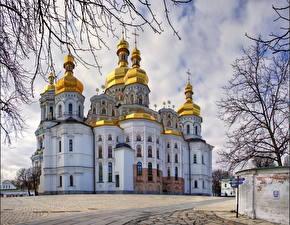 Фото Украина Храм Киев Города