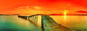 Обои Рассветы и закаты Природа