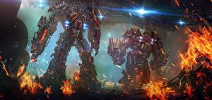 Фотографии Трансформеры Робот optimus prime autobot Ironhide Фэнтези