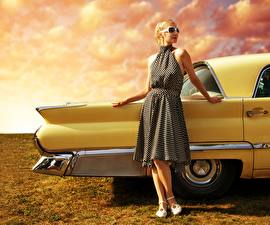 Фотография Платья Девушки Автомобили