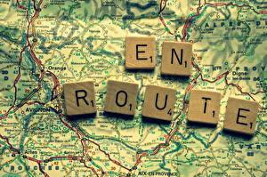 Фото Карты География Вблизи en route