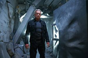 Фотографии Терминатор: Генезис Arnold Schwarzenegger Мужчина кино Знаменитости
