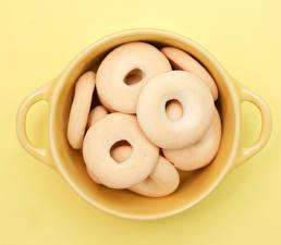 Обои Печенье Выпечка Крупным планом Чашка Еда