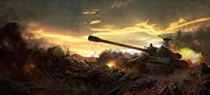 Обои World of Tanks Игры