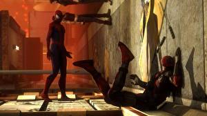 Фото Человек паук герой Deadpool герой marvel comics 3D_Графика