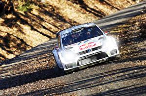Фотографии Volkswagen Стайлинг Спереди Ралли Polo WRC Автомобили