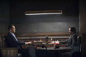 Обои для рабочего стола Colin Farrell Мужчины True Detective TV Show Vince Vaughn Frank Semyon  Ray Velcoro кино Знаменитости