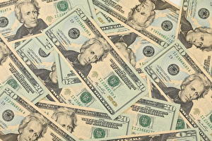 Обои Деньги Купюры Доллары 20 Jackson фото
