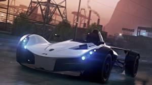 Фото Need for Speed Спереди Most Wanted 2012 BAC Mono Автомобили