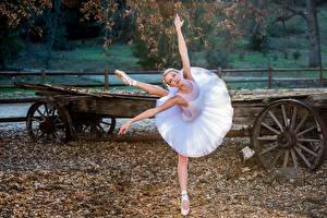 Картинки Осень Балет Девушки