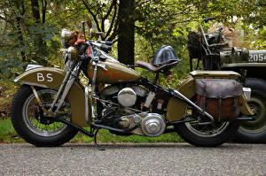 Фотографии Xарлей дэвидсон WLA Мотоциклы