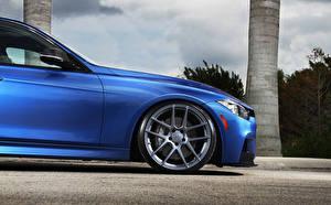 Обои BMW Синий Колесо m3 stance Автомобили