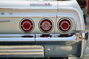 Картинка Chevrolet Фар Вид сзади impala Автомобили