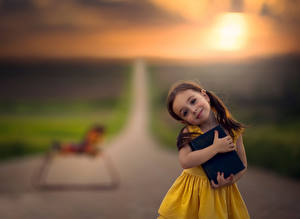Фотография Дороги Девочки Книга Дети