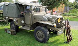 Обои Dodge Ретро 1943 WC51 Автомобили Армия