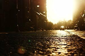 Фото Дороги Улица Города