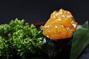 Обои Морепродукты Суси Рыба Еда